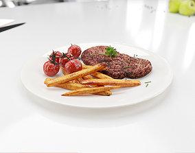 kitchen1 Steak 3D model