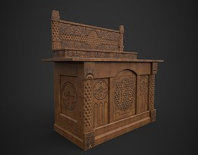 jesu 3D asset Altar