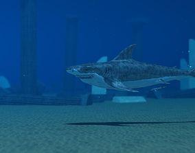 Shark Temple 3D model