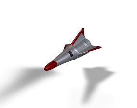 Si Fi Missile 3D model
