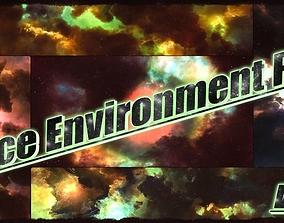 3D model Space Environment Pack Vol-2