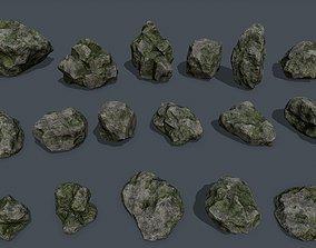 other 3D asset realtime rock set