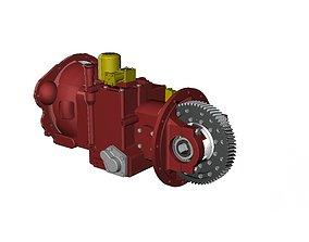 3D a498 transmission
