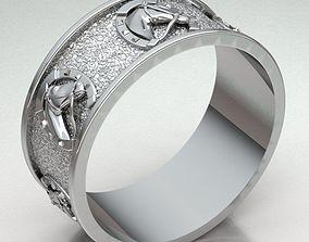 3D printable model Jewelry Ring Men REF-14