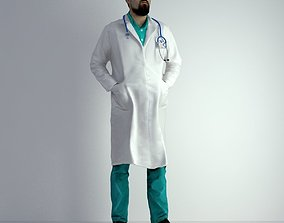 3D Scan Man Doctor 023