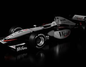 3D asset McLaren MP4-16