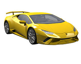 3D Lamborghini Huracan Performante 2017
