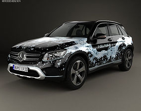 3D model Mercedes-Benz GLC-Class X205 F-Cell 2016