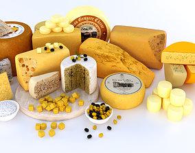 Cheese platter 3D