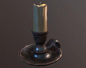 3D model realtime Candle Holder
