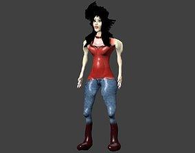 Malicorea a Women 3D asset