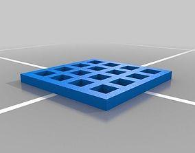 3D printable model mosquito mesh