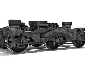 3D model railroad Train Wheels