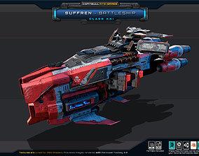 3D model NEXTGEN - Suffren - Battleship Class XXI