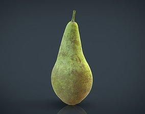 3D asset Realistic Pear