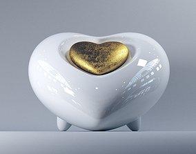 3D print model Heart Urn