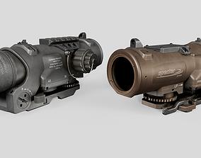 3D asset Elcan SpecterDR Combat Sight