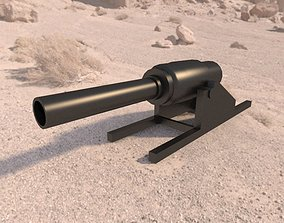3D model vavasseur gun