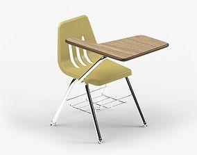 3D asset School Desk