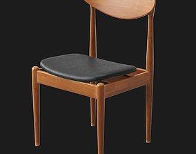 3D Parker Spade Back Chair