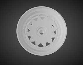 F52 Alexi rims for Hot Wheels 3D print model
