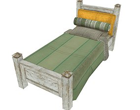 Bedcloth 52 3D asset