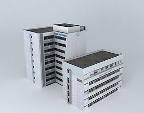 Hospital Tebet 3D model