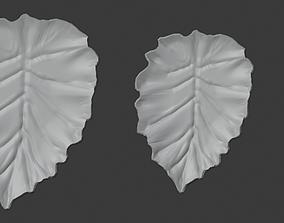 3D printable model Yaprak Tepsi Seti Leaf Tray Set