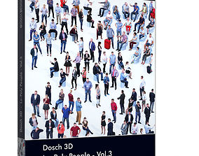 Dosch 3D - LoPoly People Vol 3 low-poly