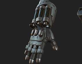 Gloves Scifi ver 8 3D asset realtime