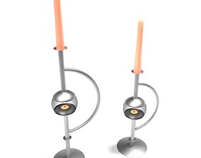 3D model Modern Candle Stick Holders