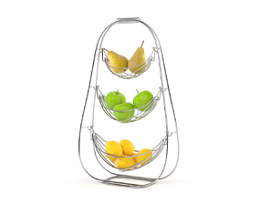 3D Fruit Storage Basket