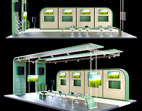 Exhibition stand 2 3D