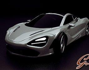3D model Mclaren 720S Exterior mclaren