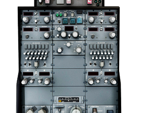 3D asset Boeing 737 Cockpit Central Panels