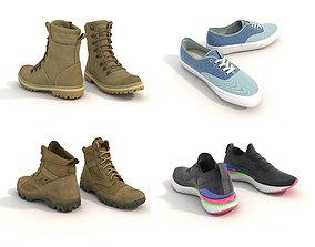 Shoes Collection shoe 3D model