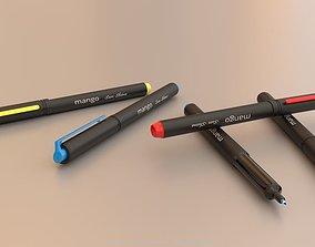 Pens 3D Model