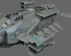 Dropship MS 3D asset