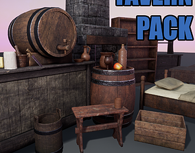 Tavern Pack 3D asset
