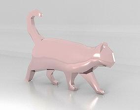 3D model Cat Low-Poly
