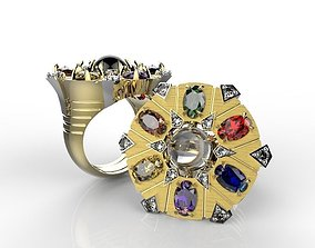 3D printable model silver JEWEL OF INFINITE RING