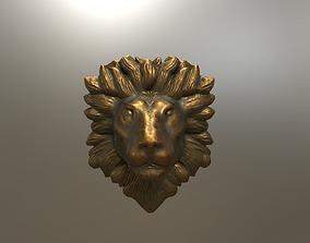 3D print model Lion Head