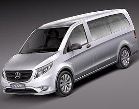 3D Mercedes-Benz Vito Tourer 2016