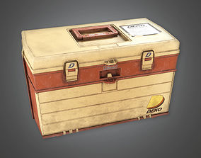 3D asset Tacklebox TLS - PBR Game Ready