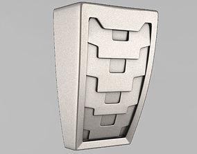 capitals 3D print model Corbels