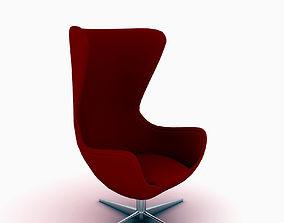 EGG Arne Jacobsen 3D