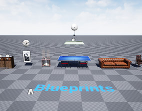 Table Game Pack Vol 1 3D model
