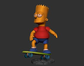 3D print model The Simpsons Barts