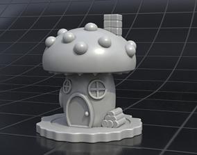 house mushrooms 3D