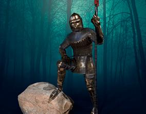 TAB Medieval Knight - 3 3D model